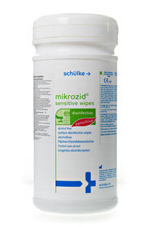 Mikrozid Sensitive wipes 200ks jumbo dóza